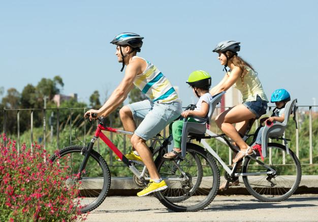 Derfor skal du have en cykelstol til dit barn