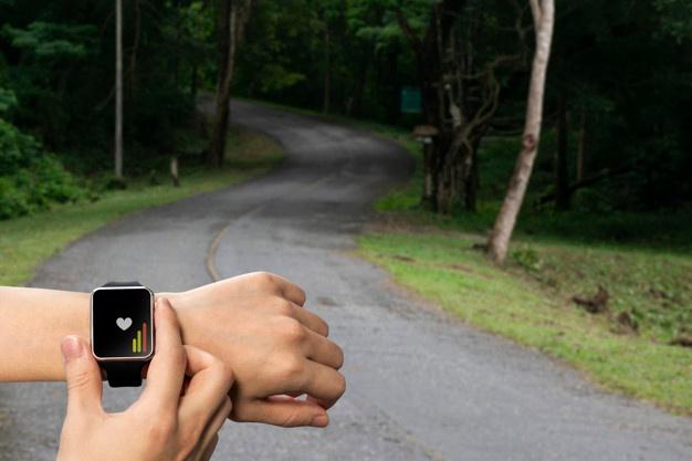 Brug dit smartwatch som GPS
